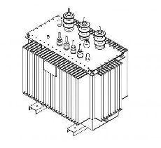 Трансформатор силовой масляный типа ТМГ-160/10(6)-У1  СТО