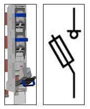 Предохранитель-выключатель-разъединитель Шлюз 2-1П-ШС