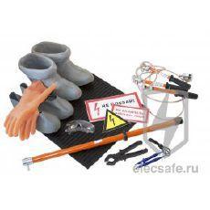Комплект средств защиты для электроустановок до 1000В (КСЗ-1)